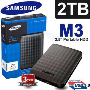 DISCO DURO EXTERNO SAMSUNG 2TB 3.0 Externo M3 Original