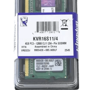 MEMORIA RAM PARA LAPTOP DDR3 4GB