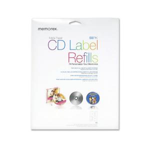 ETIQUETAS P/ CD/DVD PK DE 50